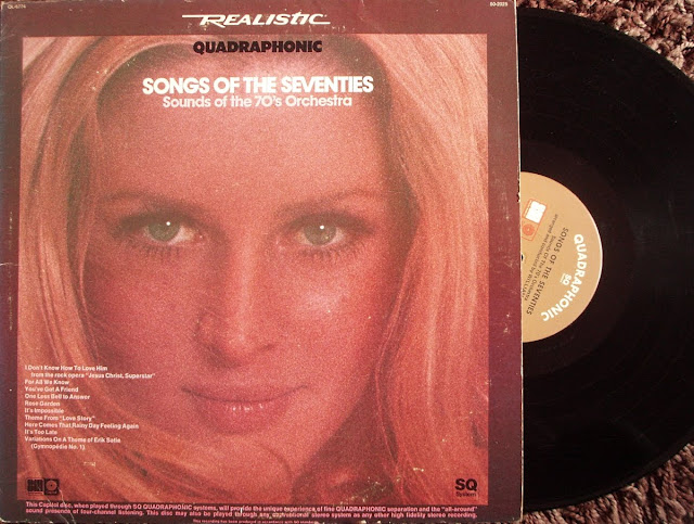 Sounds Of The 70's Orchestra - Songs Of The Seventies on Capitol 1972