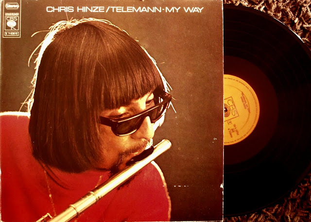 Chris Hinze / Telemann - My Way on CBS 1969