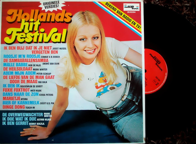Hollands Hitfestival on NAP / Polydor 1974