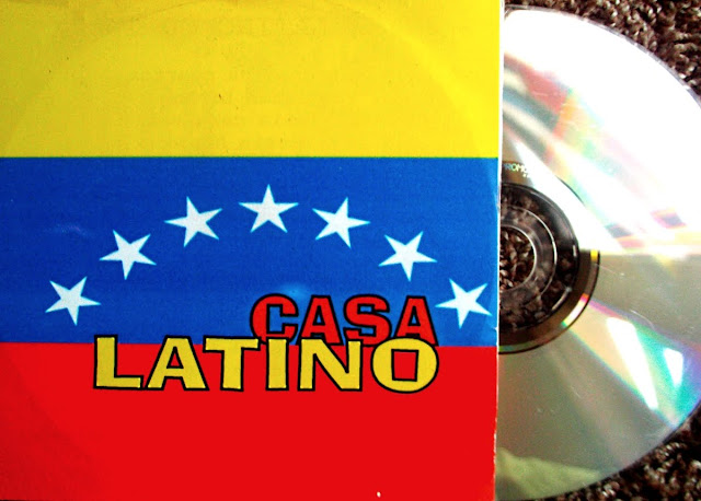 Casa Latino - Metropolis Festival ~ Audio Party-Flyer Promo on Horse & MilkyWay LPB  1999