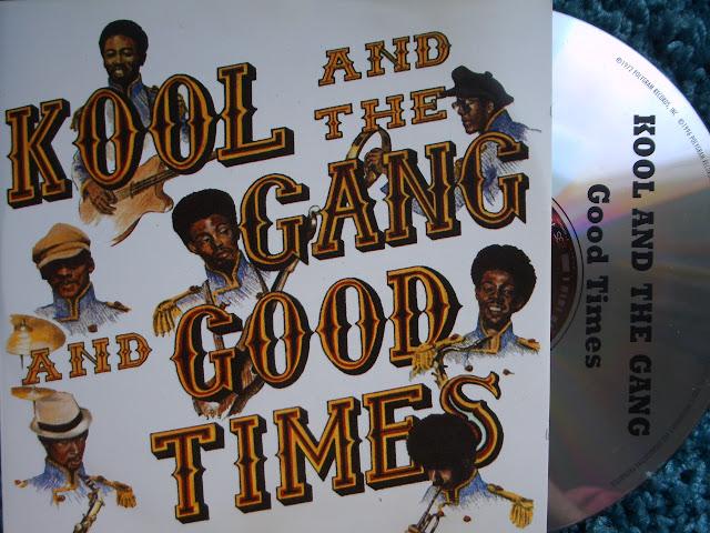 Kool And The Gang - Good Times on De-Lite ~ Polygram 1972 / 1996