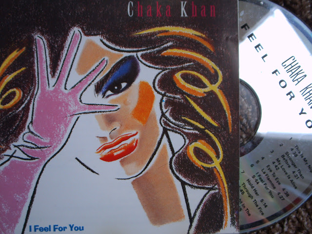 Chaka Khan - I Feel For You  on Warner Brothers 1984
