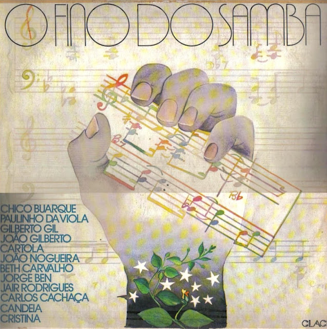 Cover Album of O Fino Do Samba - Various on Bandeirantes Discos / Clack 1979