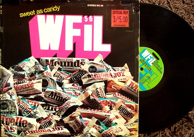 WFIL 56 Sweet As Candy ,The Sounds of Philadelphia - Various Artists Rockin' In The Cradle of Liberty  1975