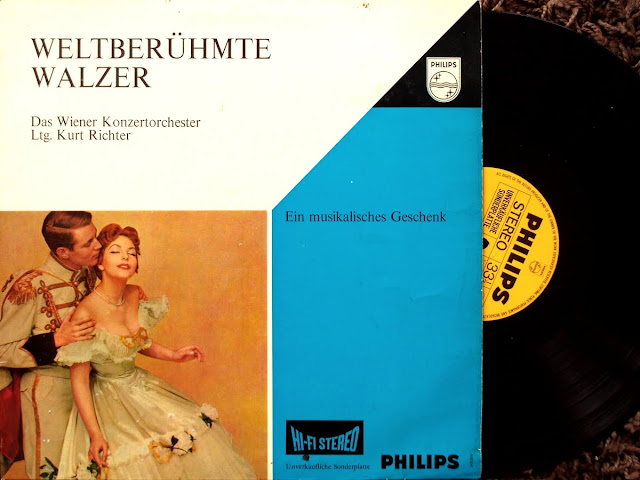 Cover Album of Das Wiener Konzertorchester - WeltberГјhmte Walzer ~ Joh. Strauss Jr. on Philips 1970