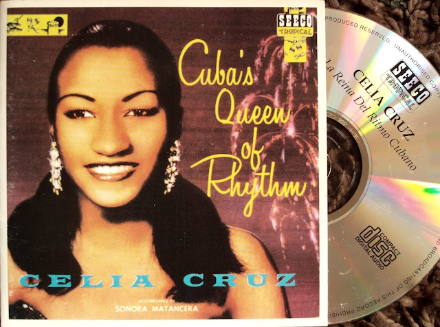 Re-Up! Celia Cruz - La Reina Del Ritmo Cubano con La Sonora Matancera on Seeco Tropical 1991