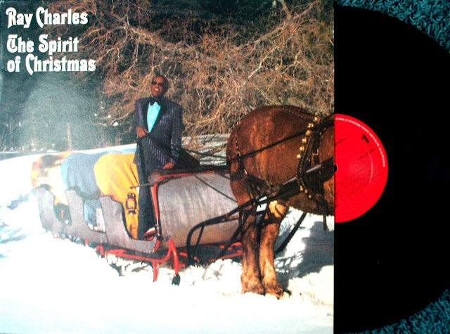 Ray Charles - The Spirit of Christmas on Rhino Entertainment  1990