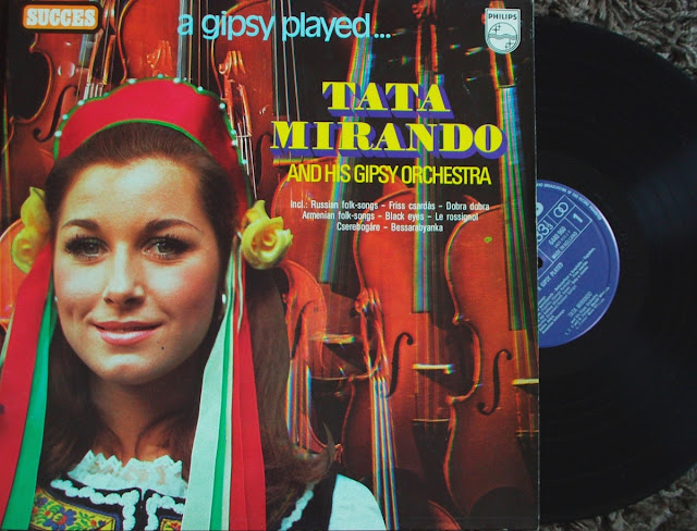 Tata Mirando and his Gipsy Orchestra - A Gipsy Played... on Succes ~ Philips 1959