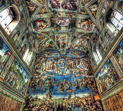 Sistine Chapel Rome Photography