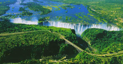 Victoria Falls Aerial Photography