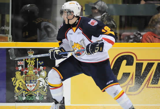 10- Mark Scheifele (C) -- Barrie Colts Scheifele2