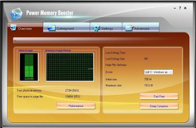 Memory Booster Gold 6.1.1.663 - software gratis, serial number, crack, key, terlengkap