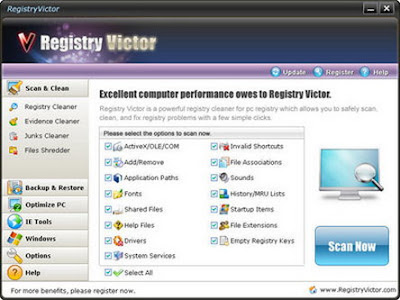 Registry Victor 6.0.9.26 - software gratis, serial number, crack, key, terlengkap