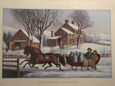 Today, original Currier & Ives prints are very popular among collectors,