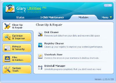 Glary Utilities Portable Glary Utilities Pro v2.15.0.728
