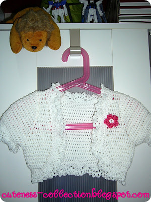 Cardigan baby- crochet pattern. - Crafts - Free Craft Patterns