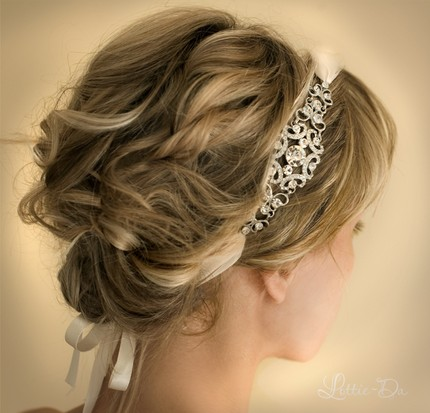 bridal headbands I 39m considering having my hair out for my wedding