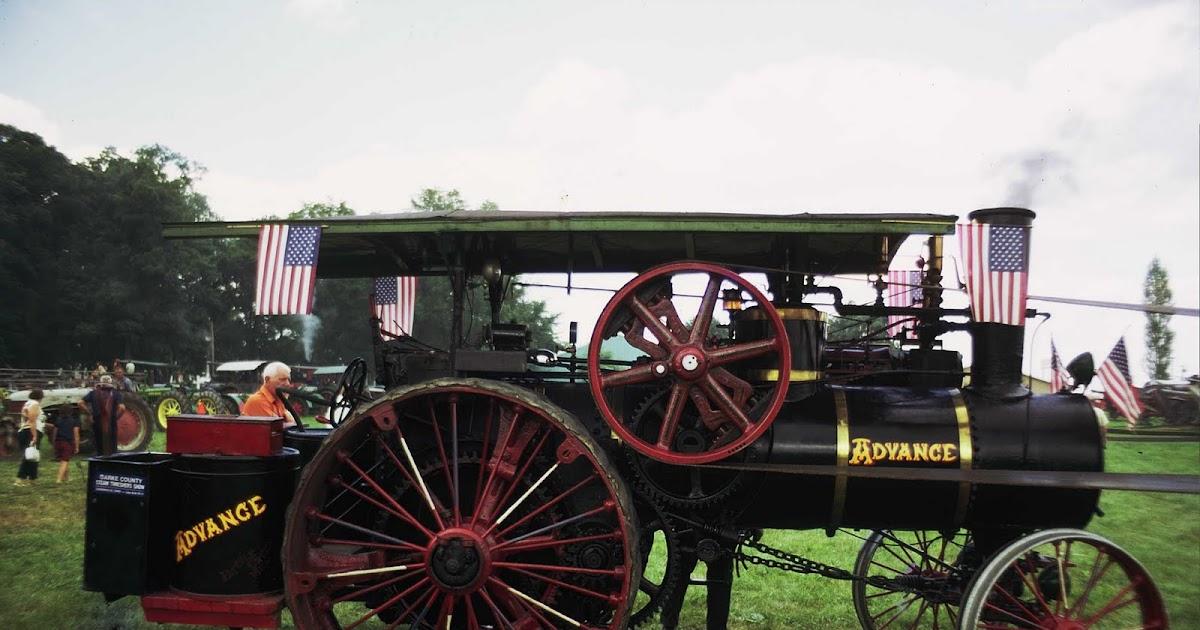 Antique Tractors In Ohio : Nicks antique steam tractors