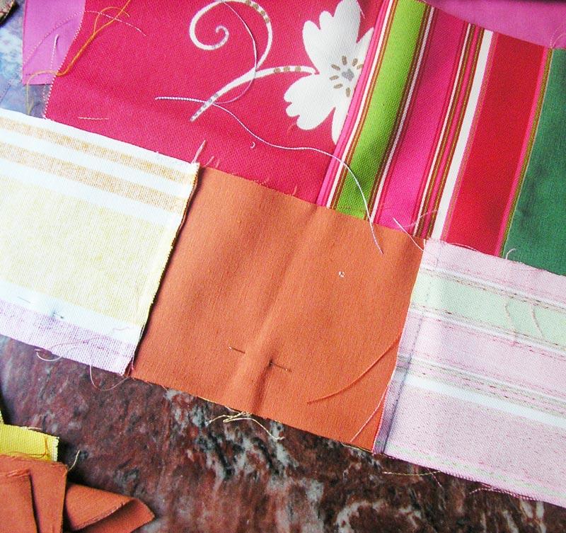 Como hacer flores de tela para coser en un mantel imagui - Hacer un mantel ...