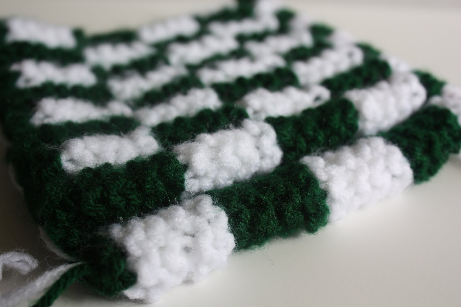 Knitting Pattern For Checkerboard Slippers : Welcome to the Knitosphere: Checkerboard Slipper Tutorial