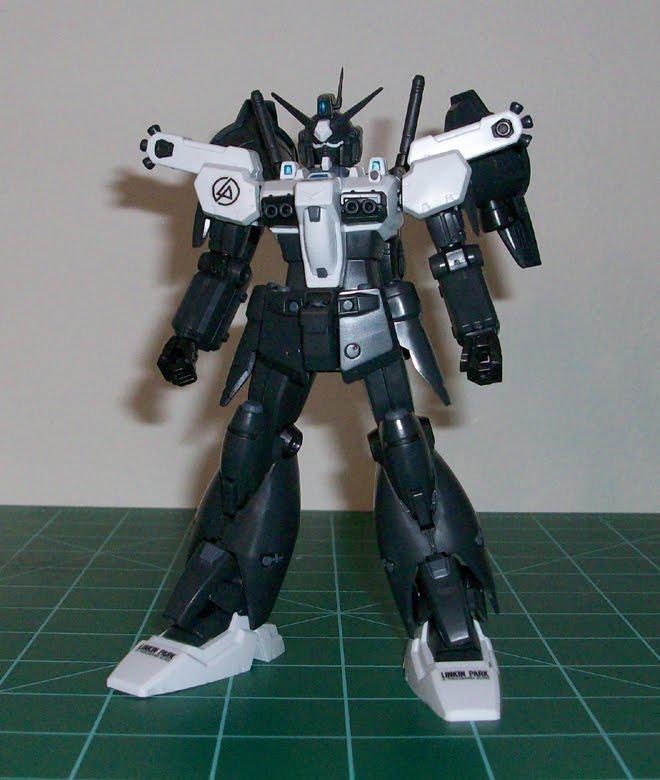 "OZ 改 Pla: HGUC 1/144 Gundam GP01Fb ""Linkin Park Edition"""