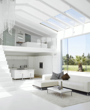 Casas minimalistas y modernas doble altura minimalista for Viviendas estilo minimalista