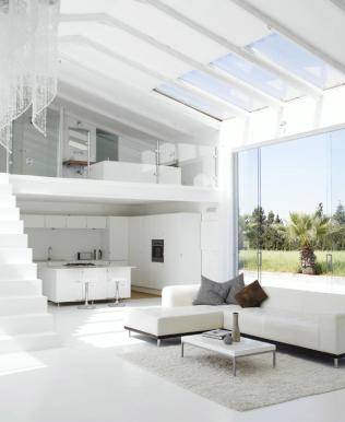 casas minimalistas y modernas doble altura minimalista