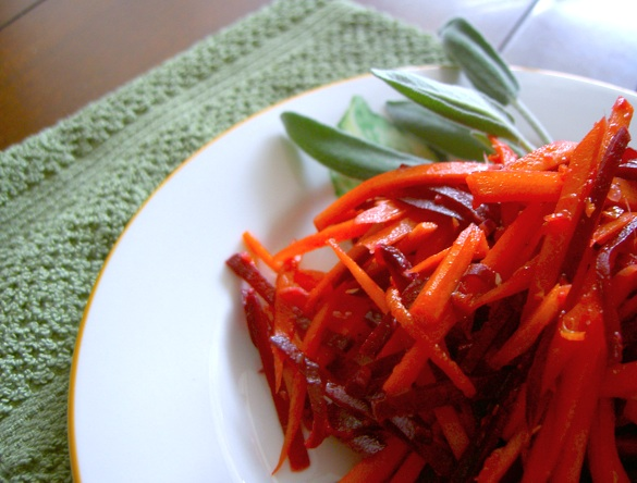 Citrusy Beet & Carrot Salad