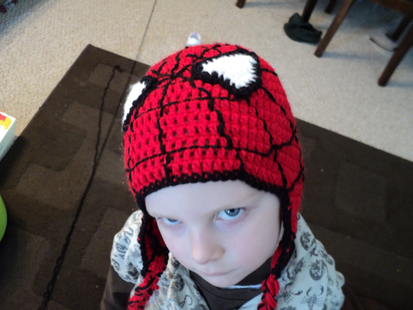 Crochet Spiderman Pattern