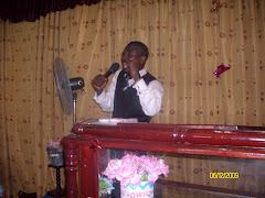 Belmon ministering in church