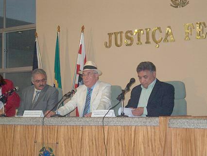 Oliveira na ccomissão julgadora do Concurso de Literatura de Cordel