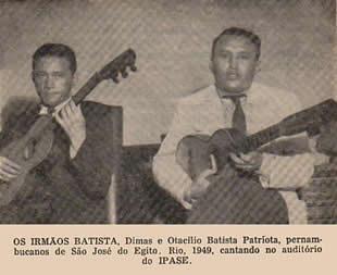 Os Irmãos Batista - Otacílio e Dimas