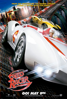 Speed Racer movie promo poster
