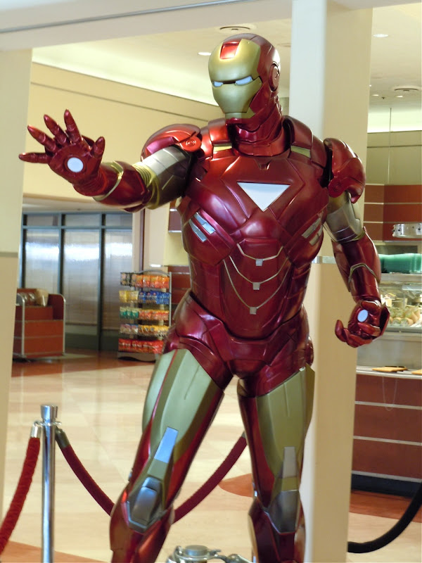 Iron Man 2 suit close-up