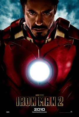 Robert Downey Jr Iron Man 2 poster