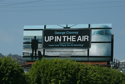 George Clooney Up in the Air billboard
