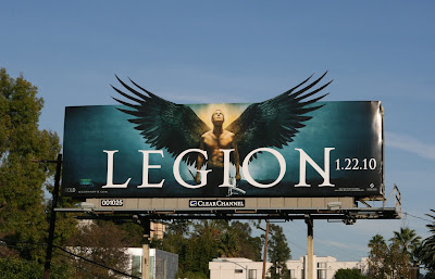 Legion angel wings movie billboard