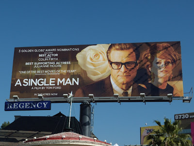 A Single Man movie billboard