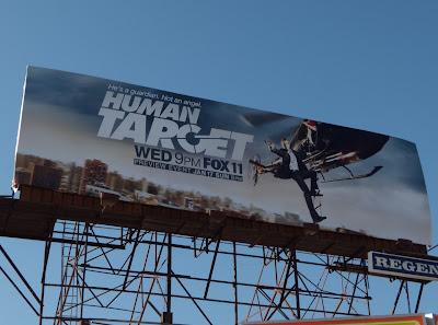 Human Target TV Billboard