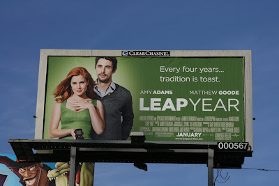 Leap Year film billboard