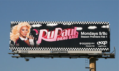 RuPaul's Drag Race season 2 billboard