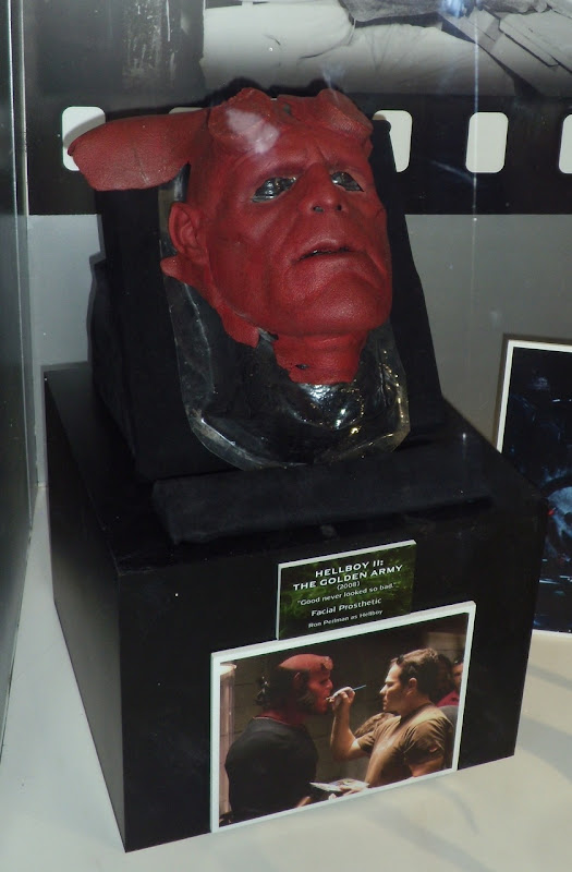 Hellboy 2 Ron Perlman facial prosthetic
