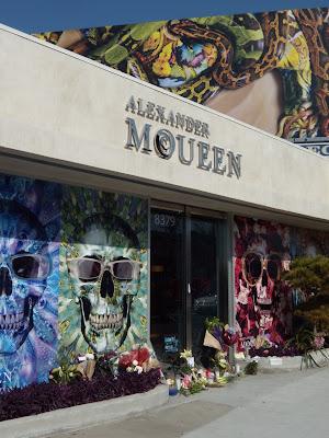 Alexander McQueen Melrose Avenue store