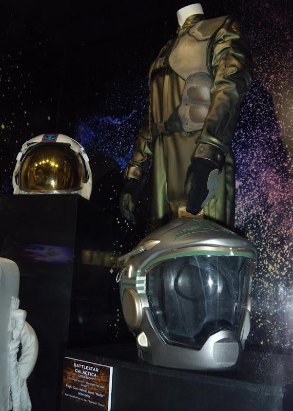 Battlestar Galactica Viper flight suit and helmet