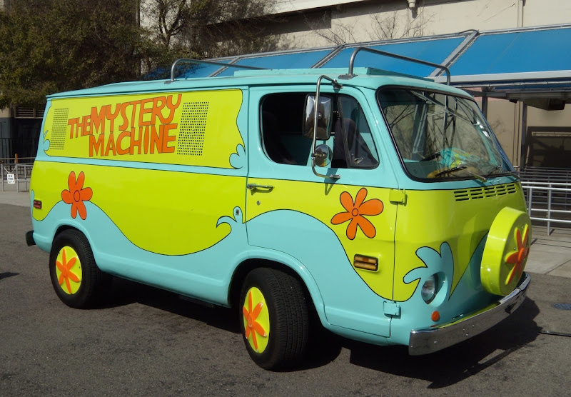 Scoody-Doo's Mystery Machine