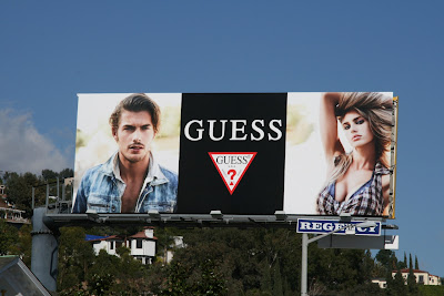 Guess fashion billboard