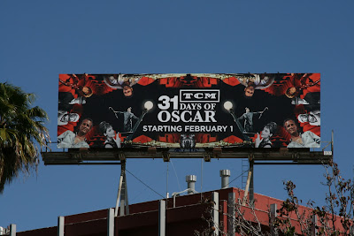 31 Days of Oscar TCM billboard