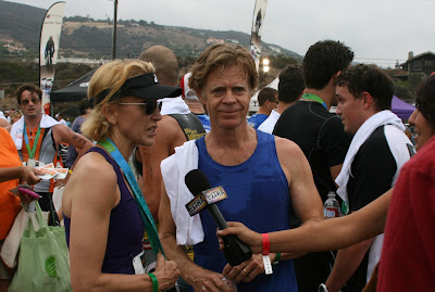 Felicity Huffaman and William H Macy Malibu Triathlon 09