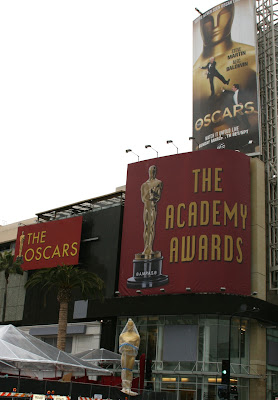 82nd Academy Awards set up