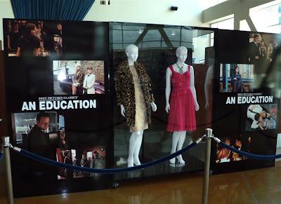 An Education film costume exhibit